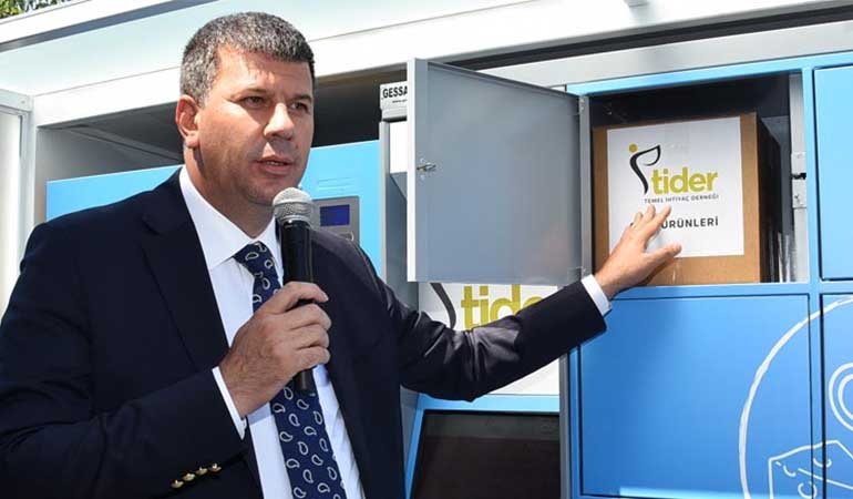 Food Vending Machine Project Implemented in Kadiköy